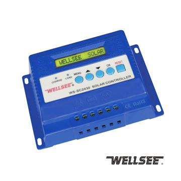 WS-SC2430 30A 维尔仕太阳能三阶充放电控制器