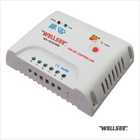 WS-SC2430B 30A 维尔仕智能型太阳能控制器