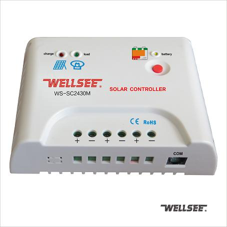 WS-SC2430M 30A 维尔仕远程太阳能控制器