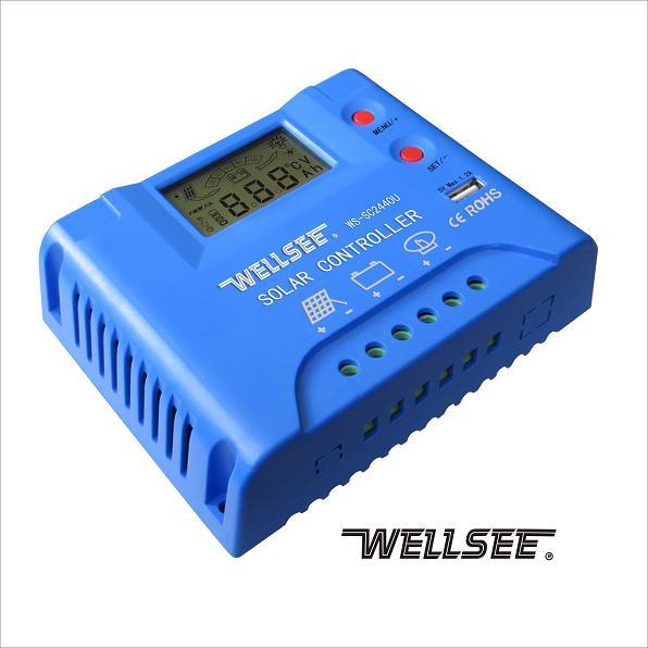 WS-SC2440U 维尔仕太阳能三阶充放电控制器